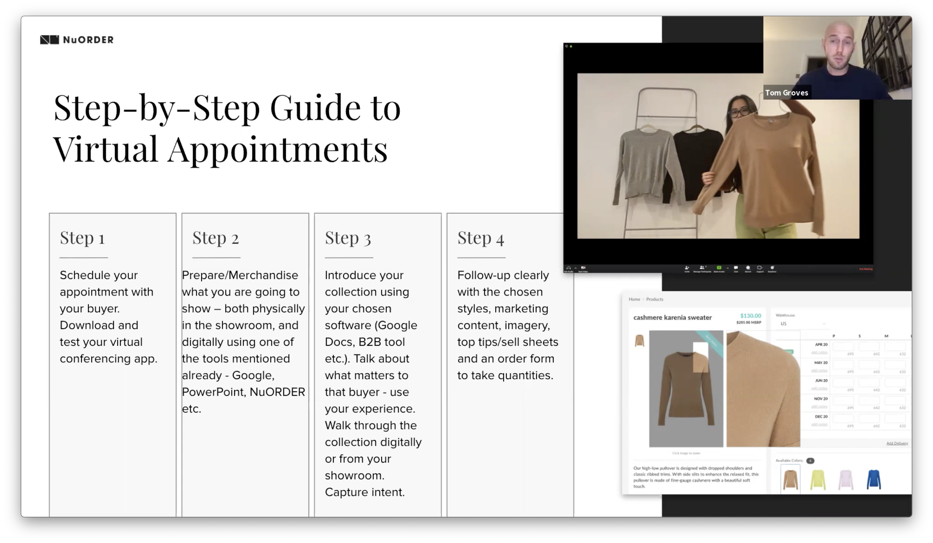 Step-by-step guide virtual appointment